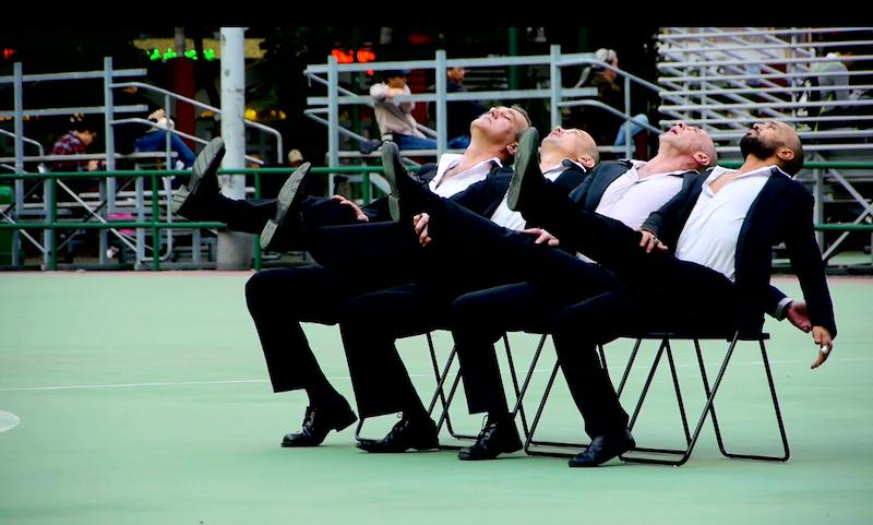 Danse performance Les Brigittines Bruxelles  - Magnificent4Hong Kong © Stéphane Broc