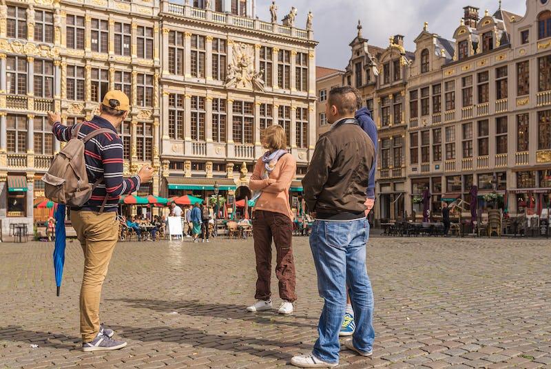 Tour historique visite guidee Grand Place Bruxelles - (c) Jean-Paul Remy