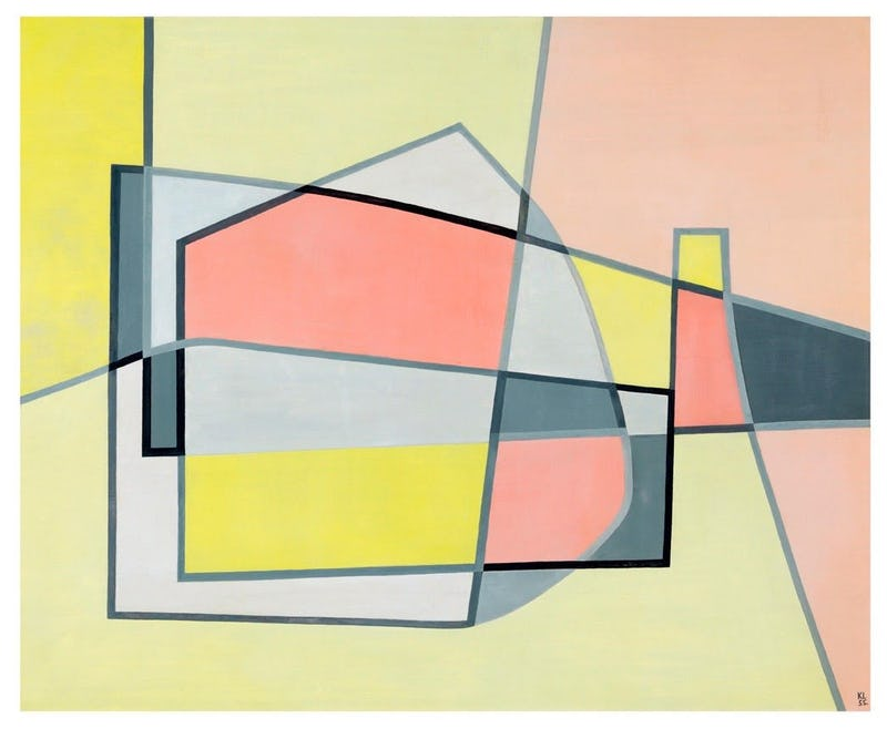 Kurt Lewy, Composition 145, 1955 © Fibac Antwerp  - Kurt Lewy, Composition 145, 1955 © Fibac Antwerp